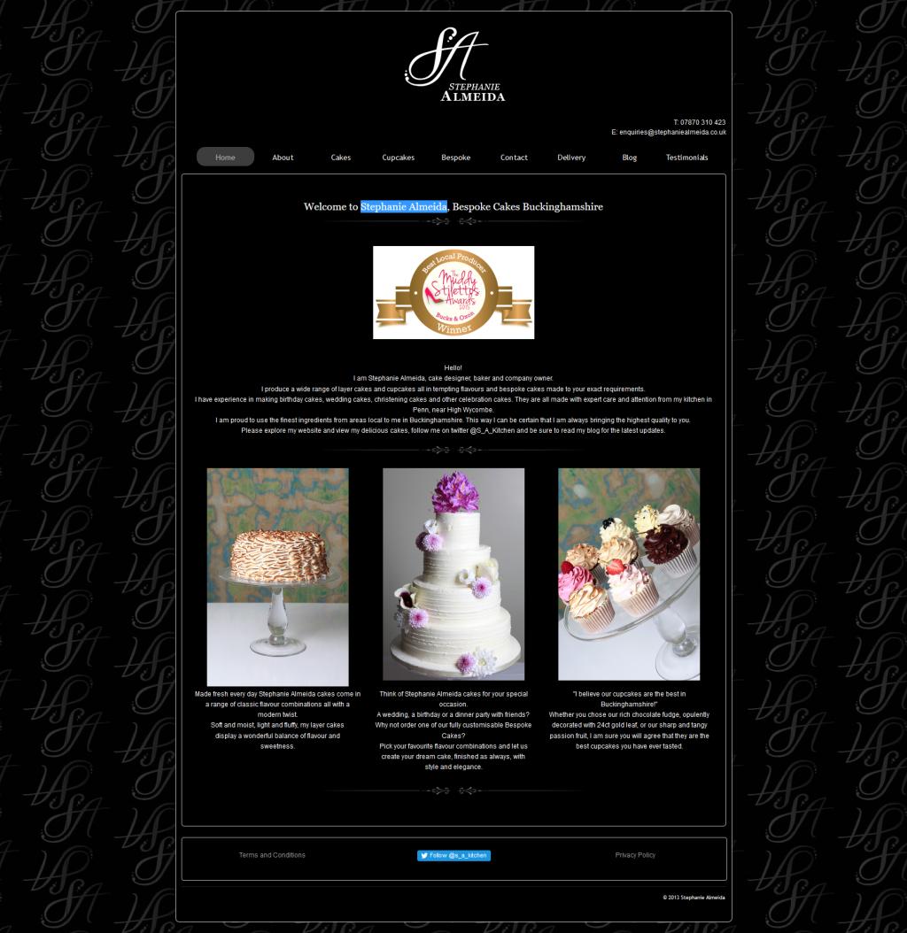 Stephanie Almeida Bespoke Cakes